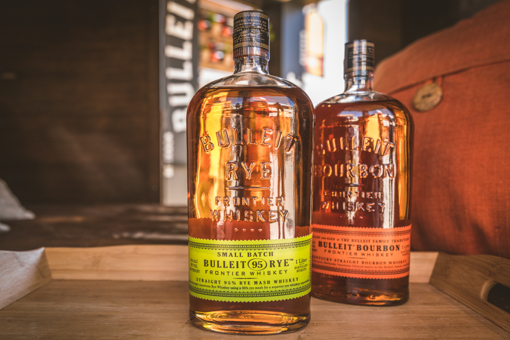 Bulleit Bourbon Woody display at SOBEWFF 2016. Courtesy of Diageo and Proof Media Mix.
