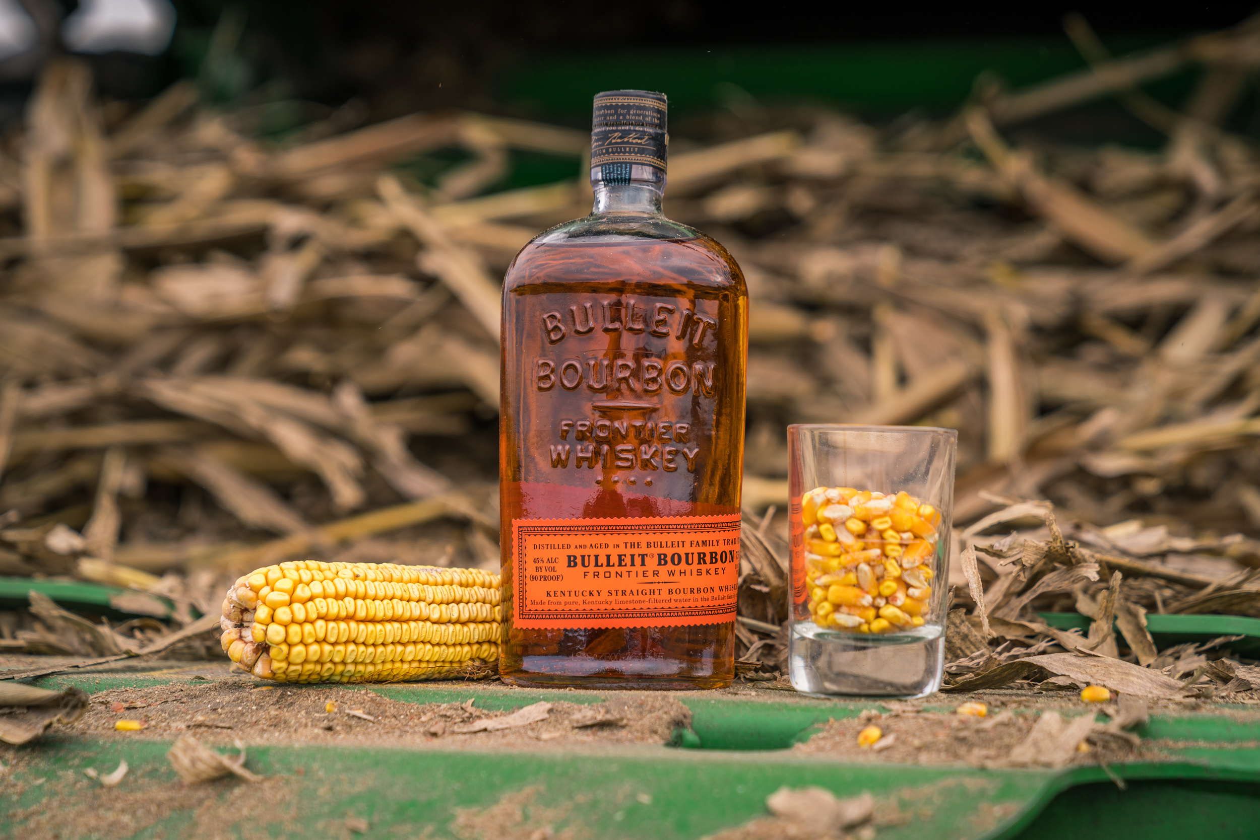 Bulleit Bourbon Corn Harvest